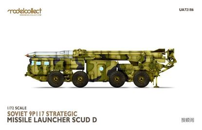 Picture of Soviet 9P117 Strategic missile launcher (SCUD D)